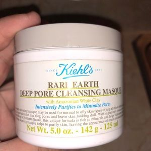 Keilhs deep pore cleansing mask.
